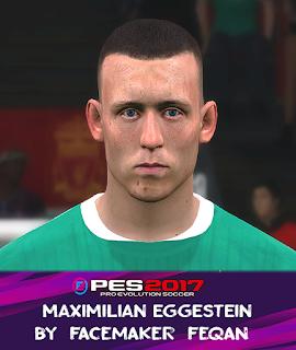 PES 2017 Faces Maximilian Eggestein by Feqan