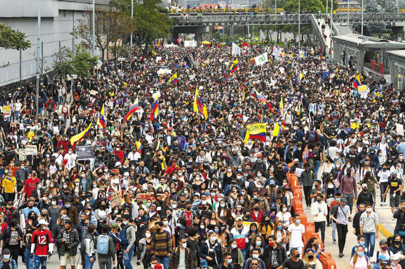 "hoyennoticia.com, CUT: ""Marchas del Paro Nacional continuarán hoy"""