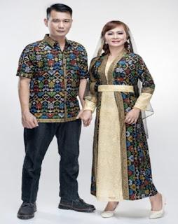 baju couple lebaran suami istri