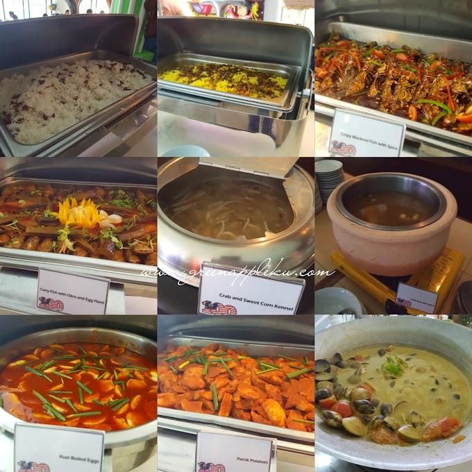 '100 days New Malaysia SUNDAY Buffet Lunch' di Flamingo Hotel By The Beach, Penang.