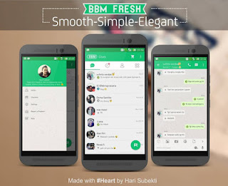 BBM Mod Fresh 2.9.0.51 + Simple + Smooth + Elegant