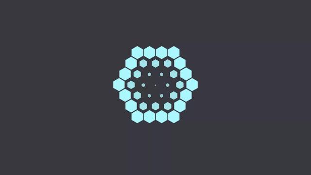 Awesome Hexagonal Loading Animation