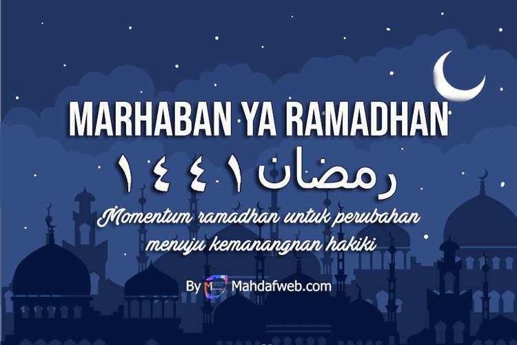 Kata ucapan ramadhan 2020, kartu ucapan menyambut ramadhan 2020, kata kata ramadhan 2020