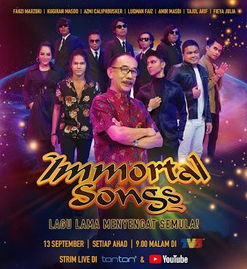 LIVE Immortal Songs Malaysia Minggu 3 (13.9.2020)