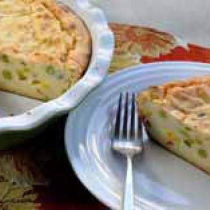Mashed Potato & Veggie Breakfast Pie