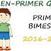 EXAMEN PARA PRIMER BIMESTRE-PRIMER GRADO (2016-2017)
