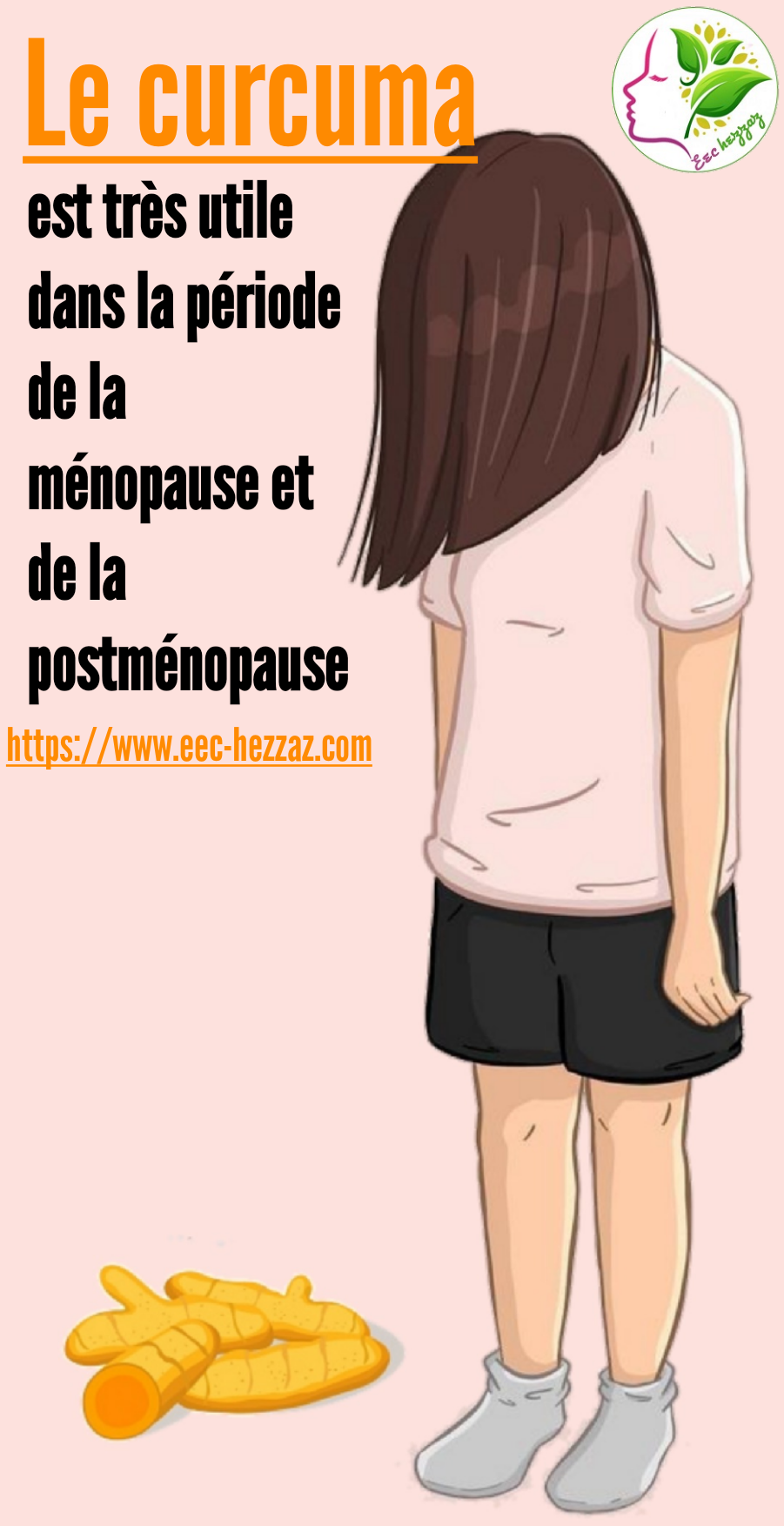 Le curcuma est très utile dans la période de la ménopause et de la postménopause
