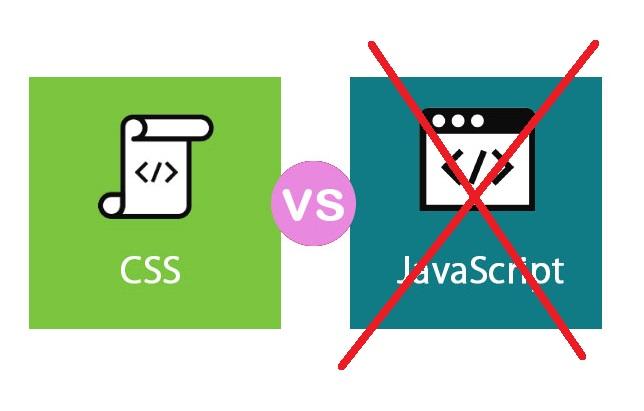 Dùng CSS thay thế thư viện JavaScript