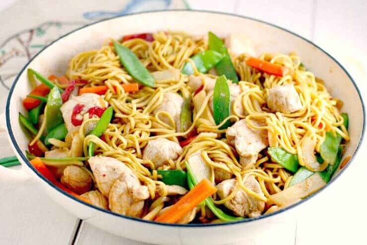 Easy Chicken Noodle Stir Fry