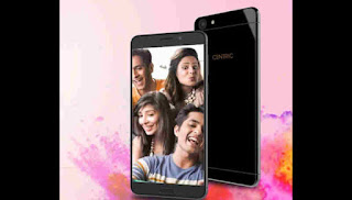 Centric L3 Smartphone Launched Alongside A 256 Gb Expandable Retentiveness Together With Cost Is Nether 7,000₹ Or 120$