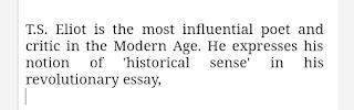 Historical sense