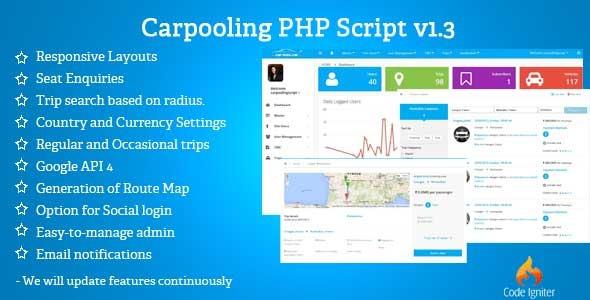 Tutorials: Carpooling / Ridesharing Script v1 4