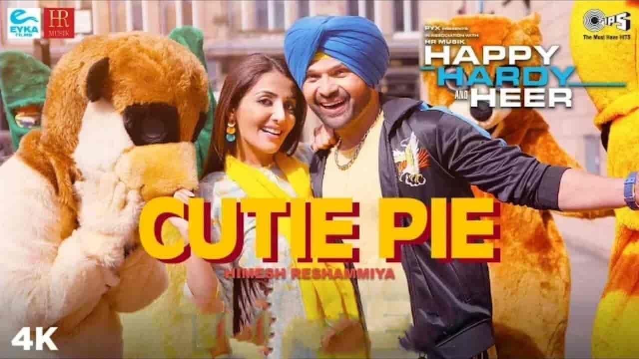 Cutie pie Song sung by Himesh Reshammiya