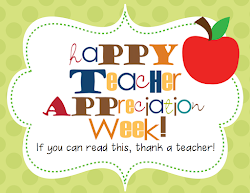 teacher appreciation week happy staff families wonderful say