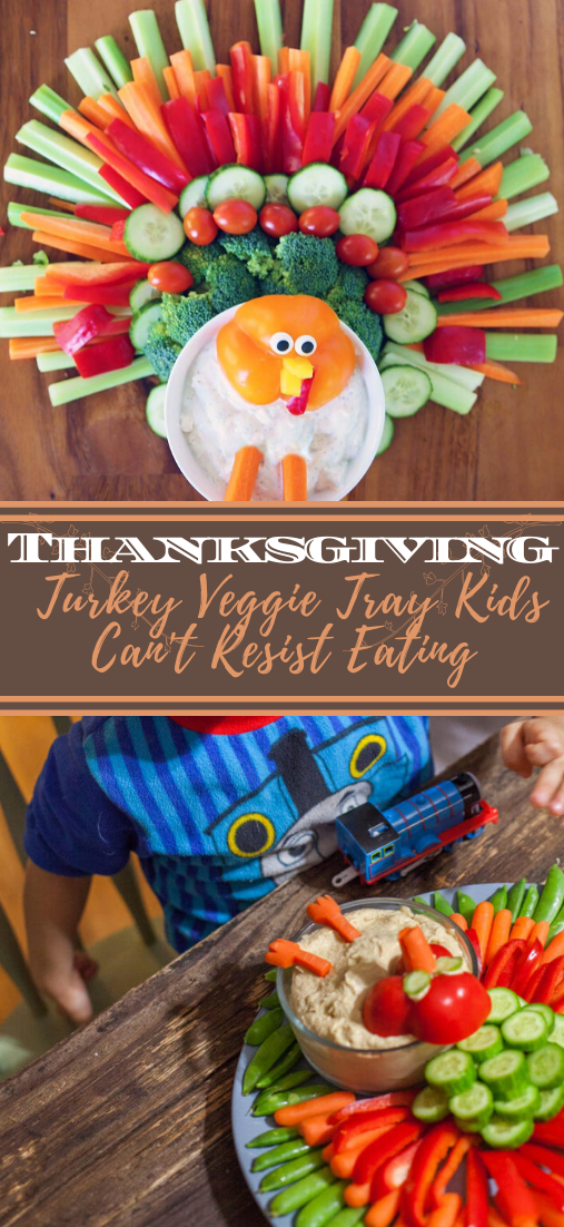 Thanksgiving Turkey Veggie Tray Kids Can't Resist Eating #vegan #vegetarian #soup #breakfast #lunch