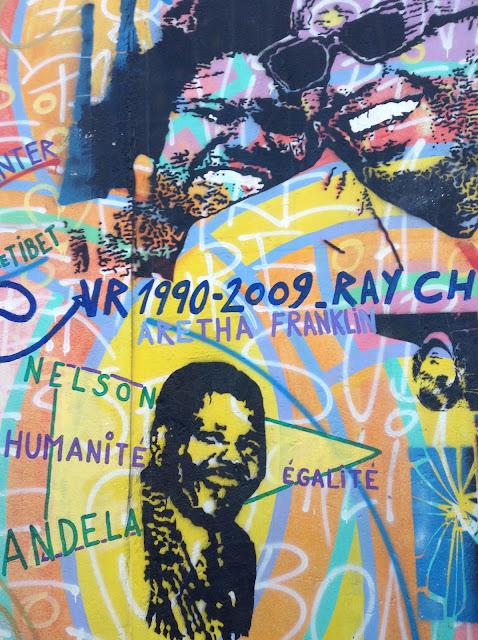 Mural homenaje a la música negra (Muro de Berlín)