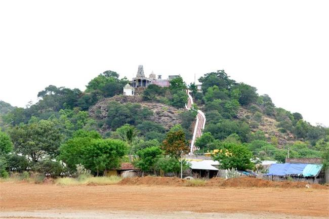 View Of Sri Bala Dhandayuthapani Temple Hill