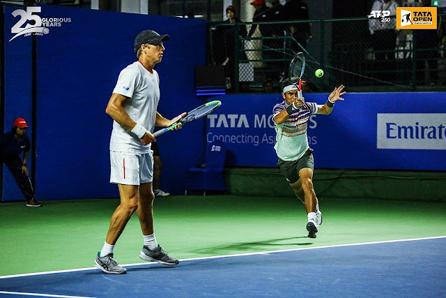 Christo Maju ke Perempatfinal ATP 250 Tata Open Maharashtra