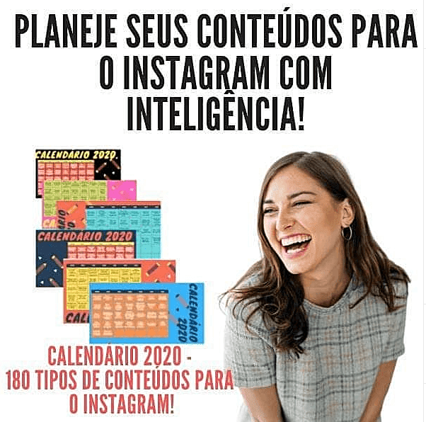 180 conteúdos para instagram