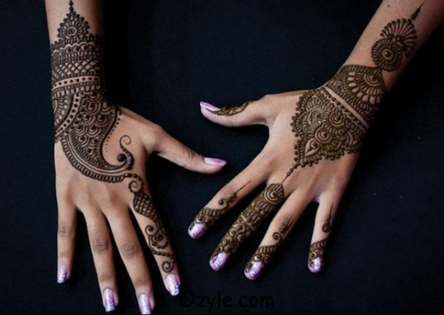 Arabic Wrist Mehndi Designs For Hands