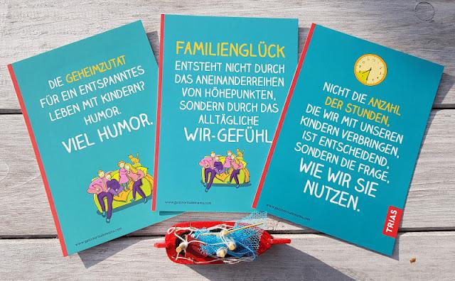 """Rituale, Routinen und richtig viel Humor: Nathalie Klüvers neues Buch """"Afterwork Familie"""". Nach der Arbeit Zeit mit der Familie genießen!"""