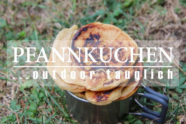 trekking rezept pfannkuchen unterwegs kochen camping