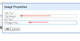 optimize image blogger seo