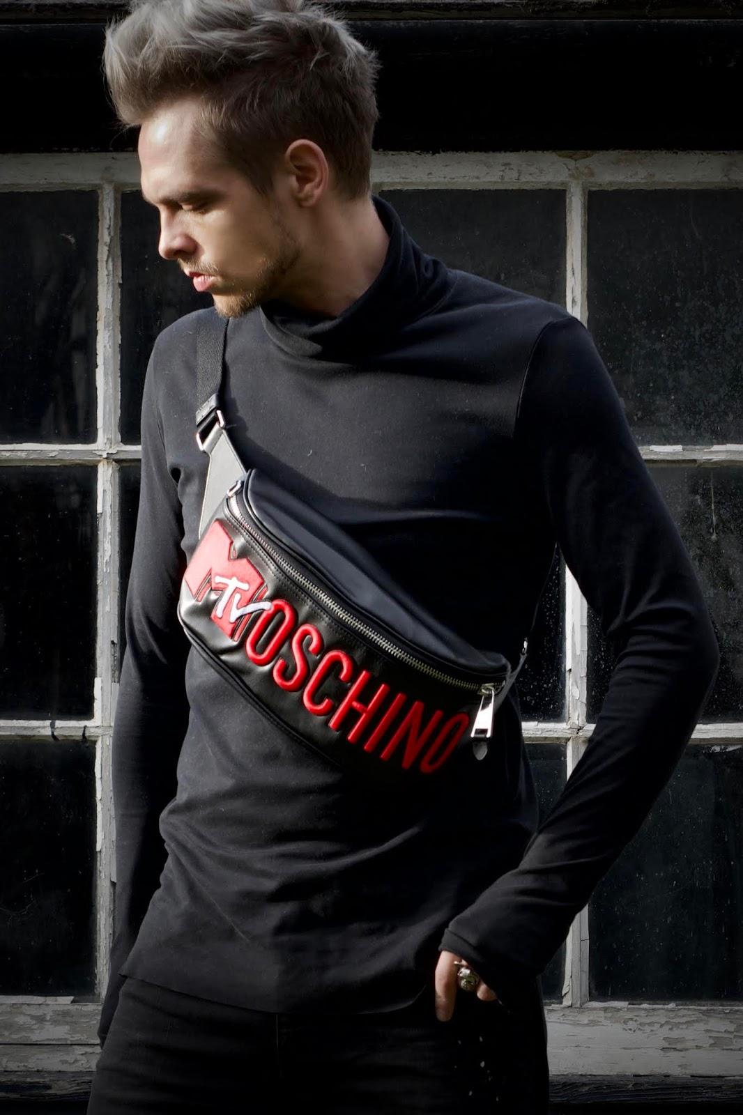 Hmoschino H&M Moschino Jeremy Scott Mens Street Stlye