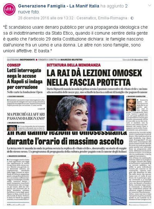 articolo di giornale sullamore odio e passione