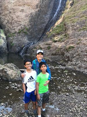 Hallow Falls at North Table Mountain