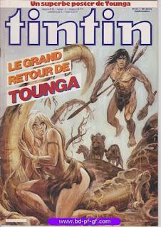Tintin-numéro 27, année 38, 1983, Tounga
