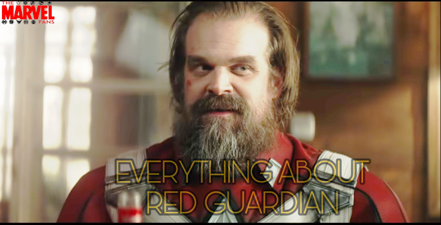 Everything about Red Guardian in Marvel Black Widow Movie