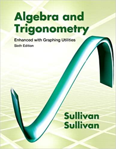 Algebra and trigonometry : enhanced with graphing utilities