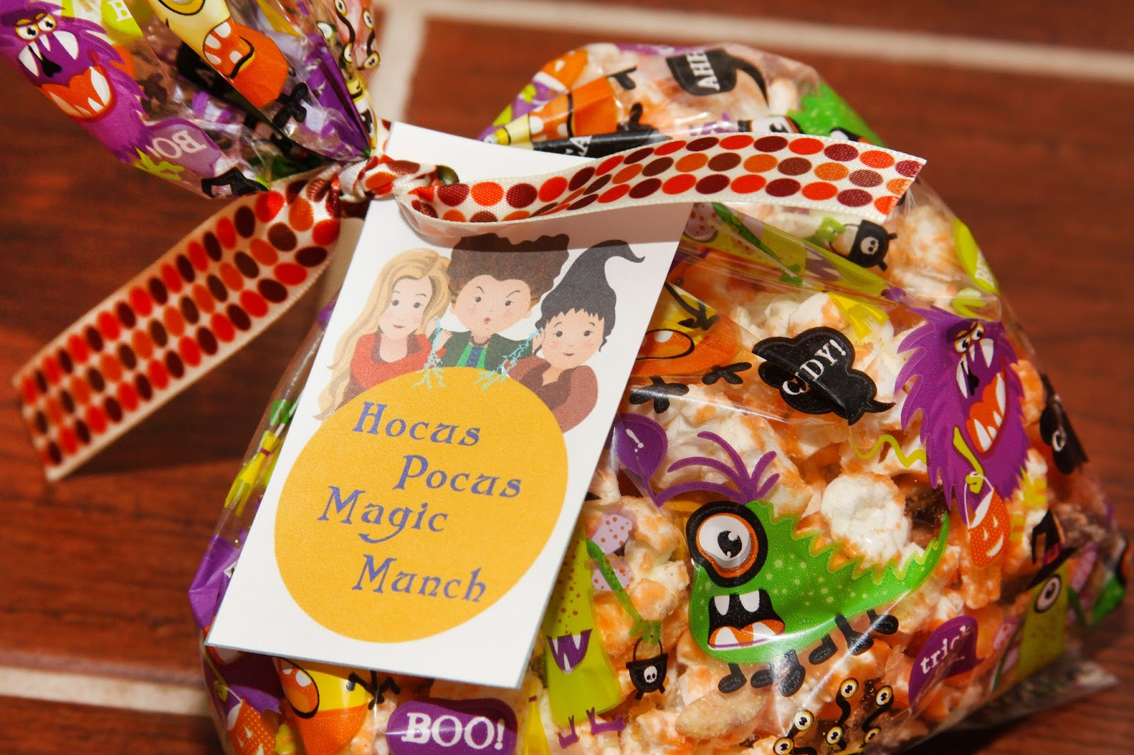 For The Love Of Food Hocus Pocus Magic Munch Mix Gift Tag Printable