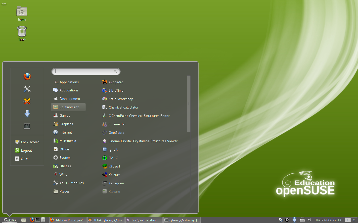 Install Cinnamon On Fedora Or openSUSE ~ Web Upd8