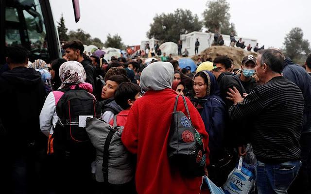 Στη δομή των Σερρών μεταφέρονται 1.345 μετανάστες
