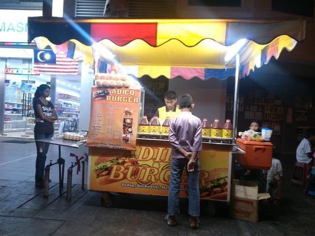 5 Manfaat Bisnes Burger Tepi Jalan