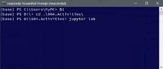 Running Jupyter Lab via Anaconda Powershell Prompt or Anaconda Prompt