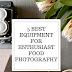 5 Alat terbaik untuk penggemar Fotografi Makanan