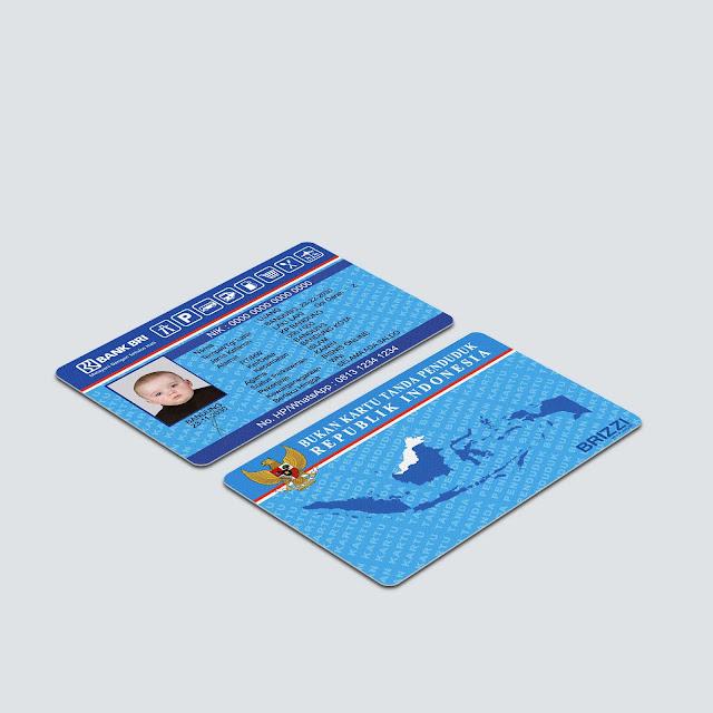 Mockup Perspektif Custom Card BRIZZI