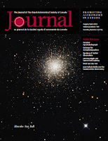 cover of the RASC Journal 2015 August