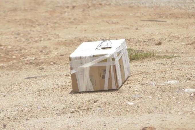 Jacobina: Caixa suspeita de conter bomba é deixada em frente ao aeroporto