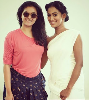 Keerthy Suresh with Dancer Soumya Muraleedharan