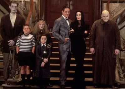the addams family humor keluarga supranatural
