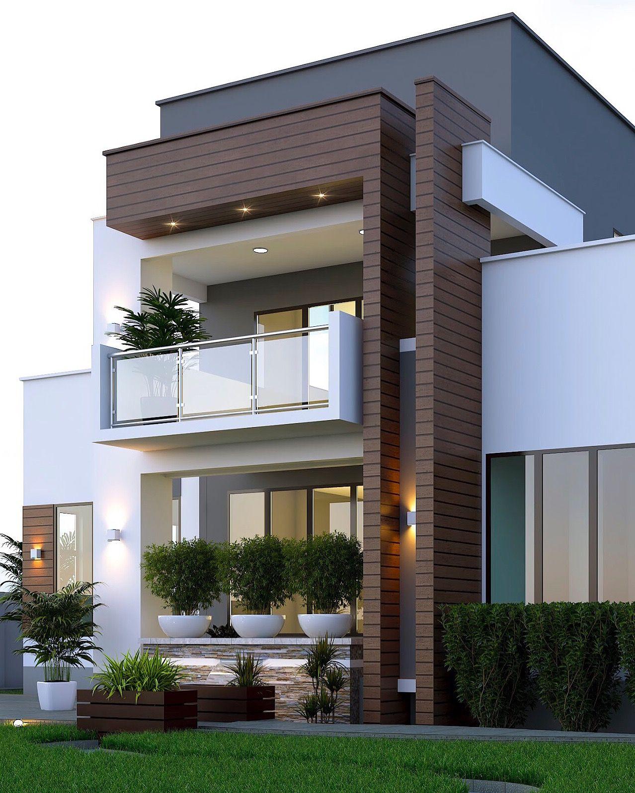 Home Design Ideas Exterior Photos: Modern Villa Exterior Designs