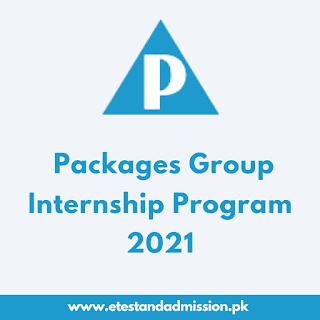 Packages Group Internship Program 2021