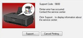 Printer Canon MP287 Error