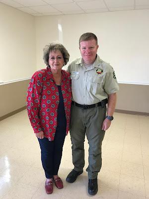 Ms. Mollie Burch and George Risko