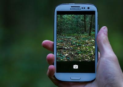 Smartphone con internet móvil