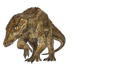 penampakan dinosaurus di papua